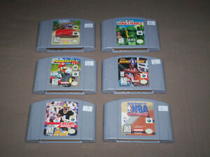 NINTENDO 64 GAMES FOR SALE MARIO KART - DOOM - GEX + MORE!!