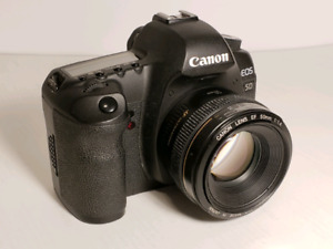 Canon 5D mark II with Canon 50mm f1.4