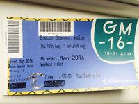 Green Man weekend Adult ticket