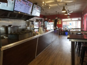 Successful Burrito Shack Franchise located on a busy street