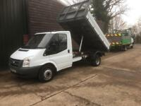 2008 FORD TRANSIT TIPPER 115T350 2.4 TDCI 115 BHP 6 SPEED 99,000 MILES 3500 KG