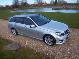 2014 / 14 Mercedes-Benz C220 2.1CDI (170ps) ( Premium Plus ) 7G-Tronic Plus AMG