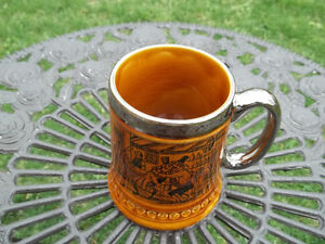 Lord Nelson Pottery vintage Steined Mug made in England coachmen West Island Greater Montréal image 3