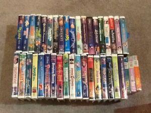 40 Walt Disney Classic VHS movies