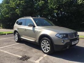 BMW X3 3.0d auto 2007 SE lovely spec car finance available from £40 per week