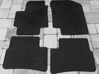 Rubber floor mats for Hyundai  Accent Coue 2009