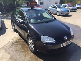 Volkswagen Golf 1.9 tdi s, low miles for year, full m.o.t 6 months extendable warranty
