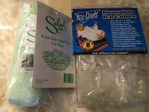 BNIP Reusable Ice Cubes and Salad Bag