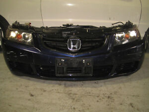 HONDA ACCORD TSX OEM FRONT NOSE CUT JDM ACURA TSX NOSE CUT