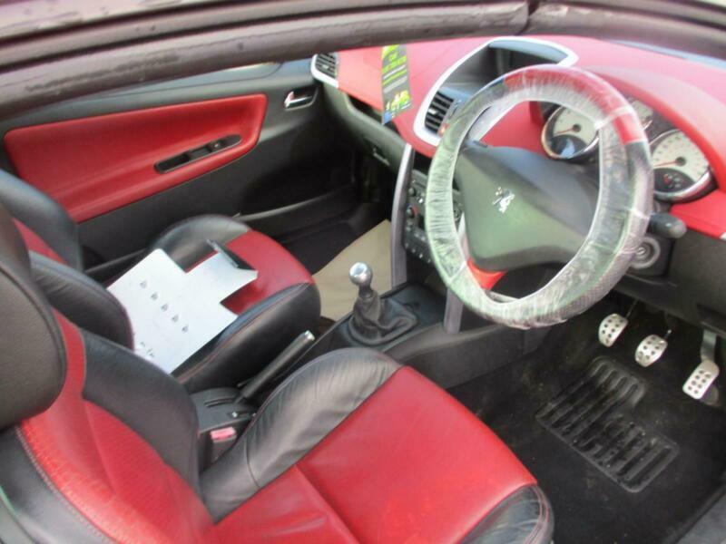 2007 Peugeot 207 1.6 16V GT 2dr CONVERTIBLE Petrol Manual