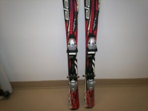 Ski Élan MagFire Pro E81 3D Full Power Cap + Élan 4.5 bindings.