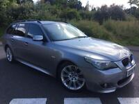2006 06 BMW 5 SERIES 3.0 530D M SPORT 5D AUTO 228 BHP DIESEL *LOW RATE FINANCE*