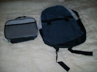 BRAND NEW BOOK BAG WITH TOTE BAG FOR SALE,great deal = look.....