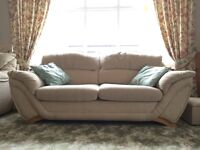 3 seater and an armchair