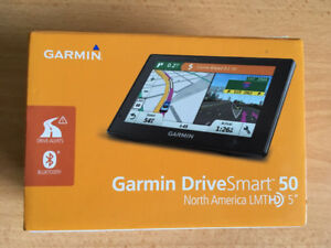 "Garmin DriveSmart 50LMTHD 5"" GPS w/ Lifetime Maps & HD Traffic"