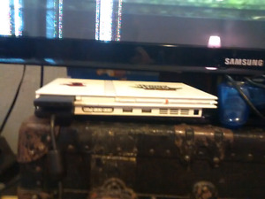 Ps2 slim with 18 games