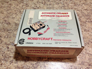 Hobby craft AC/DC variable rate quick charger