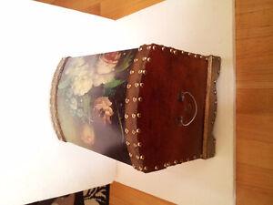 Handpainted wooden nesting box storage chest London Ontario image 6