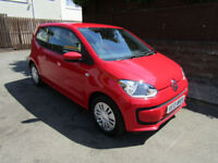 2014 (14) Volkswagen up! 1.0 BlueMotion Tech Move Up (£0 Road Tax)