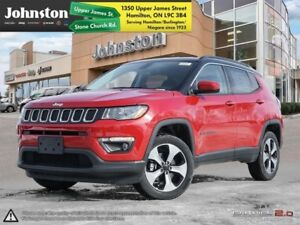 2018 Jeep Compass North 4x4  - Navigation -  Uconnect - $100.06