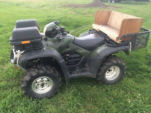 Honda Rubicon 500 in like new condition - REDUCED!