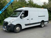 2011 11 VAUXHALL MOVANO 2.3 CDTI 124 BHP TWIN WHEEL L4 H2 LWB PANEL VAN (3500KG)