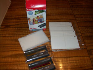 Canon KP-108IP Colour ink Cartridges 2 & Post Cards 4 pack 4x6