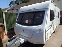 2012 4 berth end washroom Lunar Clubman SB caravan for sale