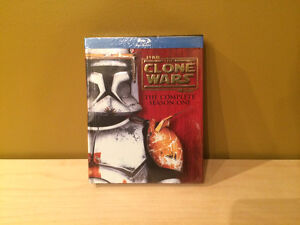 STAR WARS : THE CLONE WARS SEASON 1 (Blu-Ray) NEUF! NEW!
