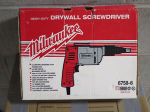 Drywall Screwdriver.