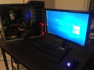 Custom Built Gaming pc. Fresh OS, Fast, and ready to game!