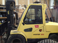 Hyster H100XM 10,000LB Forklift - Great Condition