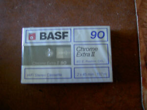 Audio Cassettes New Factory Sealed MAXELL / BASF / TDK / 90/100m West Island Greater Montréal image 1