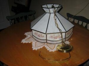 Ceiling Tiffany Light Fixture.