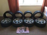 """Alloys 18"""" + Tyres"""