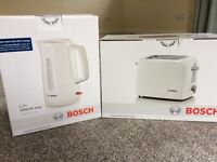 Bosch sealed toaster and kettle