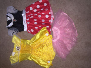 Little girls costumes