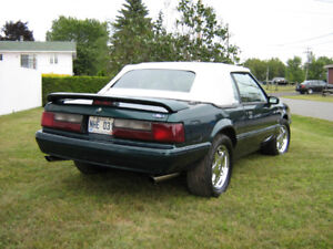 mustang  lx decapotable 1992
