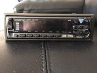 Kenwood flip car radio