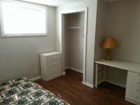 Available Now, Furnished Rm 5 min walk to Brentwood LRT, U of C