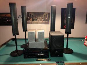 Cinéma Maison 7.1 avec Ampli Pioneer Elite VSX-91TXH