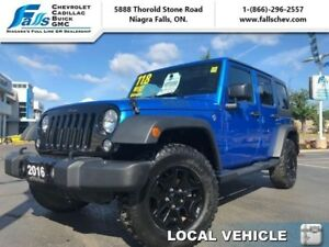 2016 Jeep Wrangler Unlimited Willys Wheeler  UNLIMITED WILLYS WI