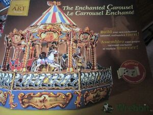 BUILD YOUR OWN MUSICAL CAROUSEL