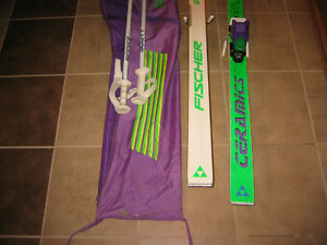 Skis Fisher et fixations Tyrolia