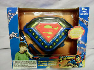 SUPERMAN TELEPHONE NEW