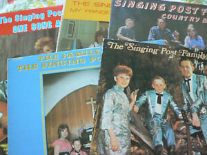 The Singing Post Family - selection of albums