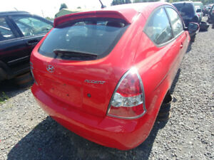 PIECES HYUNDAI ACCENT 2006-2011 PARTS