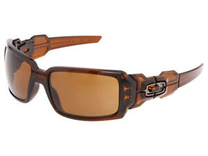 64951df2a8a Oakley Oil Drum Sunglasses 30-717 Polished Rootbeer Dark Bronze