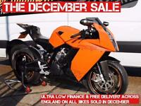 2010 - KTM 1190 RC8, IMMACULATE CONDITION, HUGE SPEC, £6,250 OR FLEXIBLE FINANCE