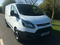 2014 14 FORD TRANSIT CUSTOM 2.2TDCi 290 100BHP 1 COMPANY OWNER ONLY 38,000 MILES